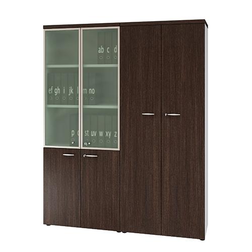 Combi houten kast  214x172cm